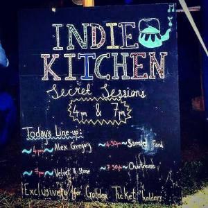 Indie Kitchen Secret Sessions Surfers against Sewage @ Somersault